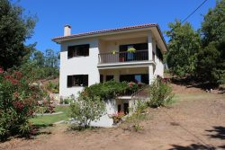 Delightful quinta of 2 ha with house and pool and beautiful view Vila Pouca da Beira